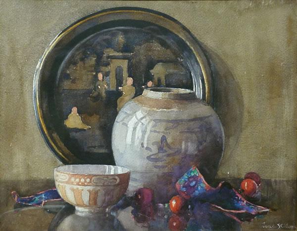 Oriental Still Life by Janetta Gillespie