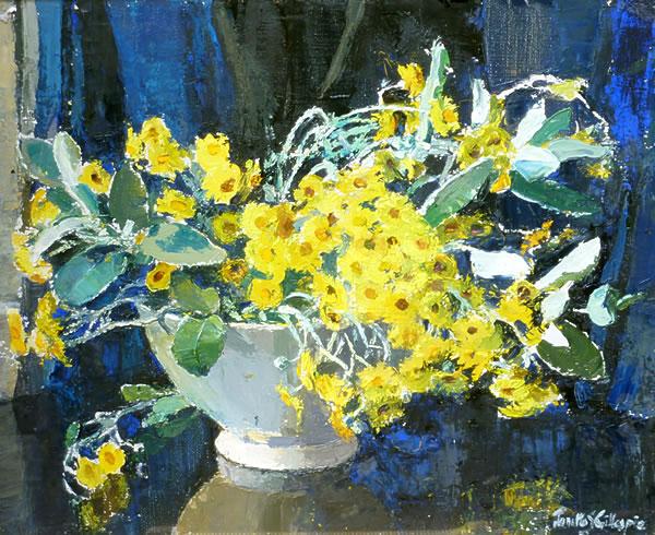 Yellow Daisies by Janetta Gillespie